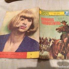 Tebeos: SIOUX Nº 91 - HOMBRES TURBOLENTOS - EDICIONES TORAY-1967. Lote 154887150