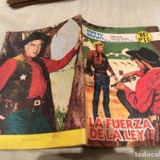 Tebeos: SIOUX Nº 106 LA FUERZA DE LA LEY - EDICIONES TORAY-1968. Lote 154887558