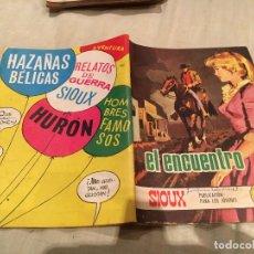 Tebeos: SIOUX Nº 127 - EL ENCUENTRO - EDICIONES TORAY-1969. Lote 154887934