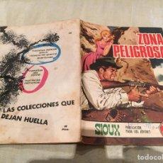 Tebeos: SIOUX Nº 138- ZONA PELIGROSA - EDICIONES TORAY-1969. Lote 154888230