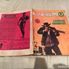 Tebeos: SIOUX Nº166 - ESPIRITUS INDOMITOS - EDICIONES TORAY-1970. Lote 154888950