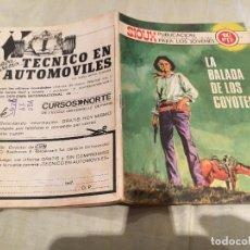 Tebeos: SIOUX Nº176 - LA BALADA DE LOS COYOTES - EDICIONES TORAY-1970. Lote 154889366