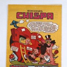 Tebeos: EDICIONES CHISPA. IRANZO. Lote 155290282