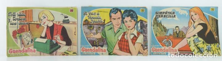 3 NUMEROS COLECCION GUENDALINA, 16-19-20 (Tebeos y Comics - Toray - Guendalina)
