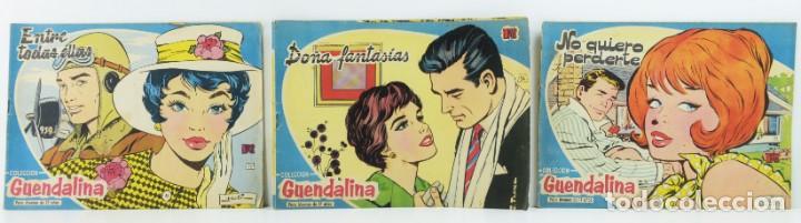 3 NUMEROS COLECCION GUENDALINA, 23-24-25 (Tebeos y Comics - Toray - Guendalina)