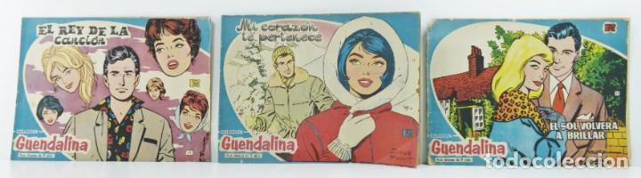 3 NUMEROS COLECCION GUENDALINA, 26-28-29 (Tebeos y Comics - Toray - Guendalina)