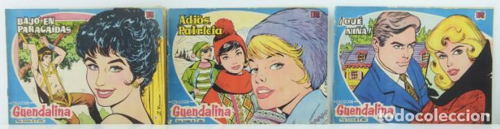 3 NUMEROS COLECCION GUENDALINA, 38-39-40 (Tebeos y Comics - Toray - Guendalina)