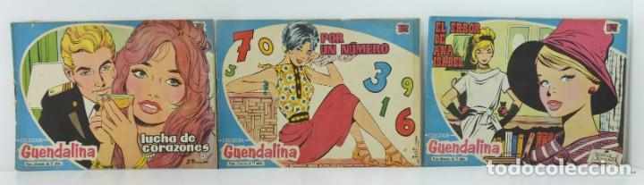 3 NUMEROS COLECCION ,GUENDALINA, 41-42-43 (Tebeos y Comics - Toray - Guendalina)