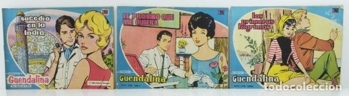 3 NUMEROS COLECCION GUENDALINA, 44-45-46 (Tebeos y Comics - Toray - Guendalina)