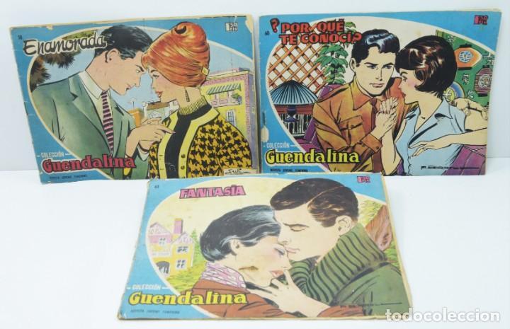 3 NUMEROS COLECCION GUENDALINA, 58 - 60 - 63 (Tebeos y Comics - Toray - Guendalina)
