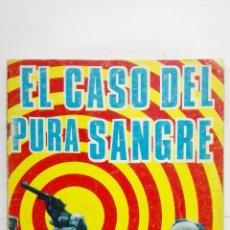 Tebeos: BRIGADA SECRETA, Nº 145, EL CASO DEL PURA SANGRE, EDICIONES TORAY, 1966. Lote 155373494