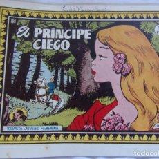 Tebeos: REVISTA JUVENIL FEMENINA AZUCENA NÚM. 15 - EL PRÍNCIPE CIEGO. Lote 155423218