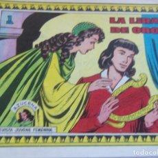 Tebeos: REVISTA JUVENIL FEMENINA AZUCENA NÚM. 240 - LA LIRA DE ORO. Lote 155425034