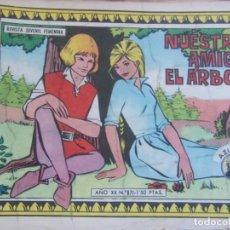 Tebeos: REVISTA JUVENIL FEMENINA AZUCENA NÚM. 871- NUESTRO AMIGO, EL ÁRBOL. Lote 155426254