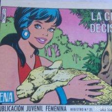 Tebeos: REVISTA JUVENIL FEMENINA AZUCENA NÚM. 1119- LA GRAN DECISIÓN. Lote 155426506