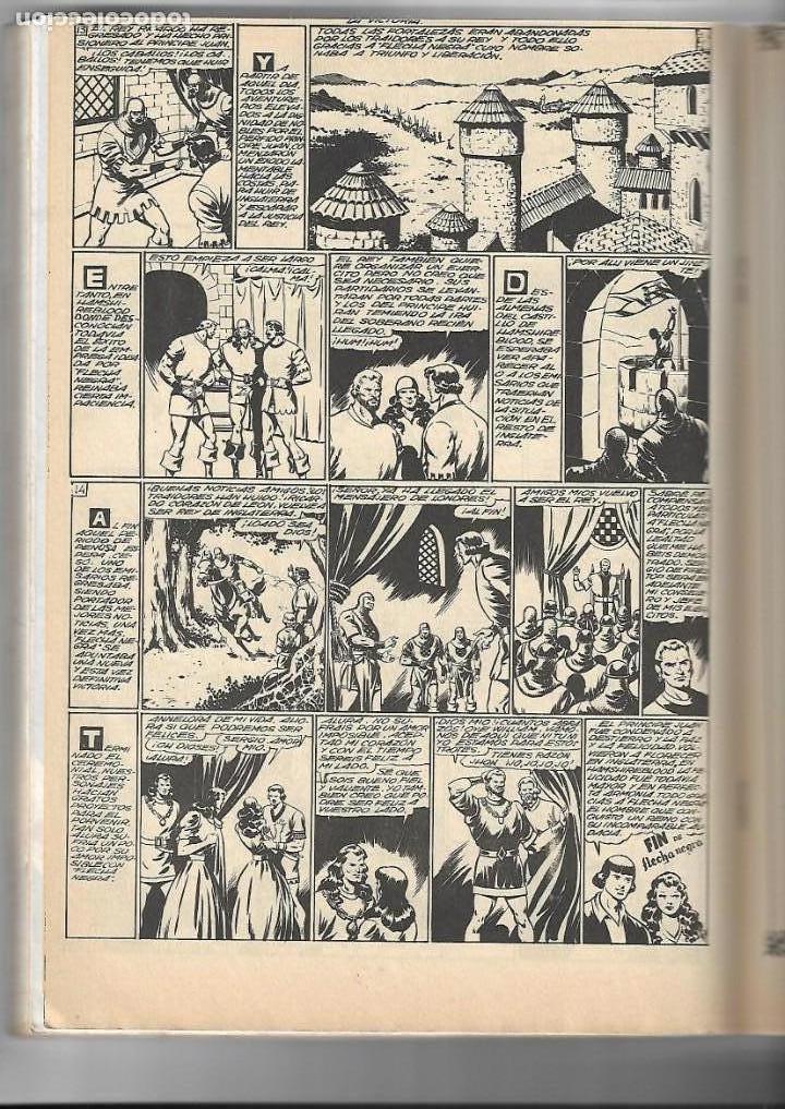 Tebeos: Flecha Negra, Año 1982. Colección Completa son 12. Tebeos Retapados en un tomo Dibujante Boixcar. - Foto 5 - 155577642
