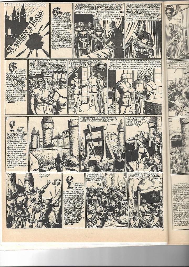 Tebeos: Flecha Negra, Año 1982. Colección Completa son 12. Tebeos Retapados en un tomo Dibujante Boixcar. - Foto 3 - 155577642