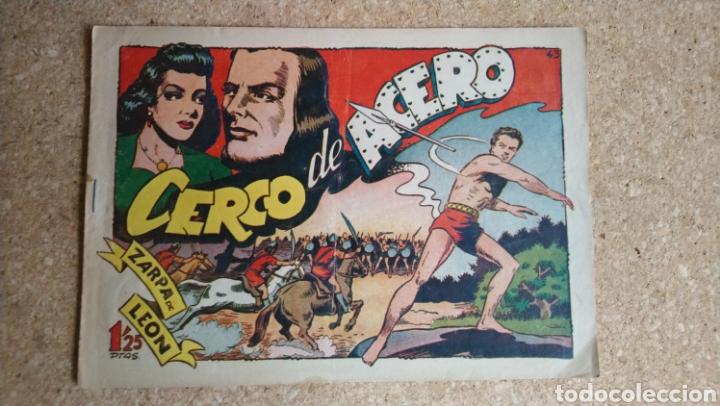 CERCO DE ACERO NUM. 43 ORIGINAL (Tebeos y Comics - Toray - Zarpa de León)