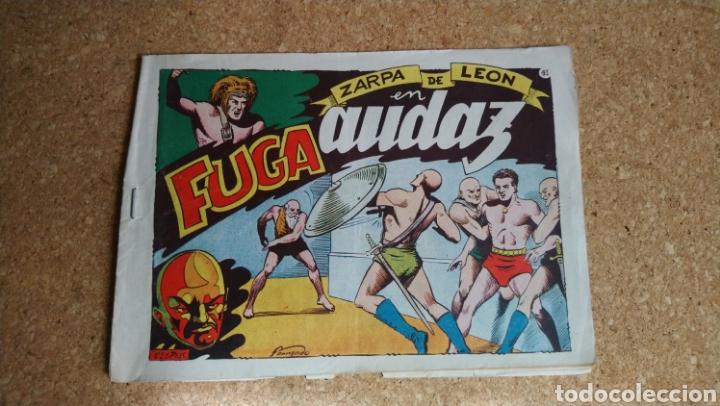 FUGA AUDAZ NUM 41 (Tebeos y Comics - Toray - Zarpa de León)