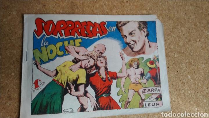SORPRESAS EN LA NOCHE (Tebeos y Comics - Toray - Zarpa de León)