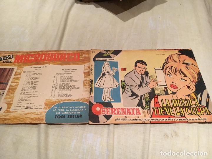 SERENATA. Nº 245 LA MÚSICA TIENE LA CULPA - 1964 EDICIONES TORAY (Tebeos y Comics - Toray - Otros)