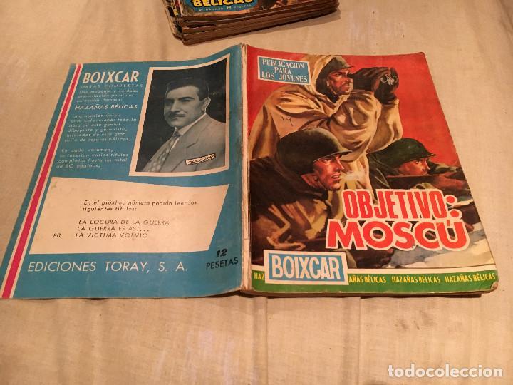 BOIXCAR -OBJETIVO: MOSCU. Nº 226.-TORAY, (Tebeos y Comics - Toray - Otros)