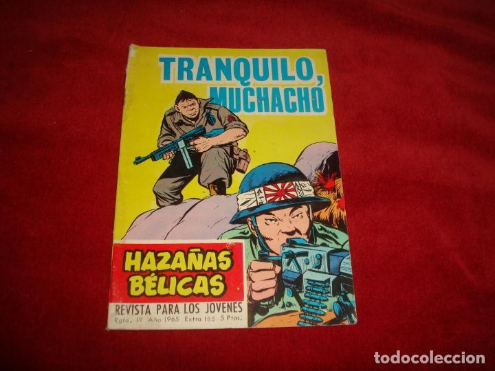 HAZAÑAS BELICAS 185 EDITORIAL TORAY 1965 (Tebeos y Comics - Toray - Hazañas Bélicas)