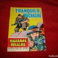 Tebeos: HAZAÑAS BELICAS 185 EDITORIAL TORAY 1965. Lote 155686398