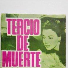 Tebeos: BRIGADA SECRETA Nº 161, TERCIO DE MUERTE. Lote 155724138
