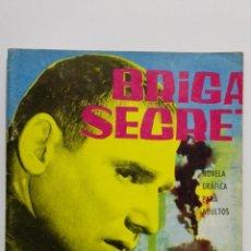 Tebeos: BRIGADA SECRETA Nº 41, ASESINATO EN LA NOCHE TRISTE. Lote 155725346