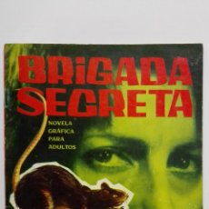 Tebeos: BRIGADA SECRETA Nº 44, LA RATA. Lote 155726078