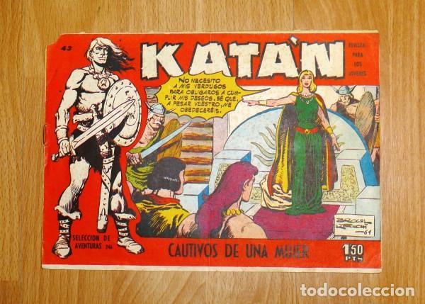 KATÁN. Nº 43 : CAUTIVOS DE UNA MUJER (SELECCIÓN DE AVENTURAS ; 246) (Tebeos y Comics - Toray - Katan)