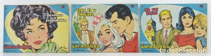 3 NUMEROS COLECCION GUENDALINA, Nº 50 - 51 - 52 (Tebeos y Comics - Toray - Guendalina)