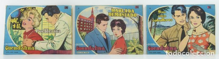 3 NUMEROS COLECCION GUENDALINA, Nº 53- 55 - 56 (Tebeos y Comics - Toray - Guendalina)