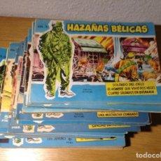 Tebeos: HAZAÑAS BELICAS AZUL LOTE DE 40. Lote 155979866