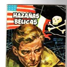 Tebeos: HAZAÑAS BELICAS. Nº 69. LUCHANDO POR TRES BANDERAS. TORAY, 1964. Lote 156042984