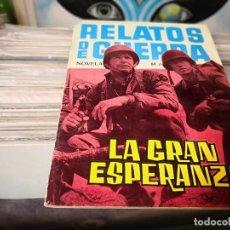 Tebeos: RELATOS DE GUERRA N 18 DE LOS MAS DIFICIL DE ENCONTRAR. Lote 156080294