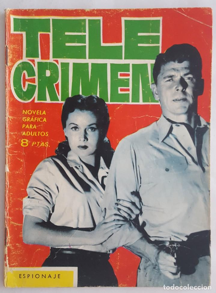 NOVELA SERIE ESPIONAJE / TELE CRIMEN / L.G. MILK / EDICIONES TORAY Nº 7 1965 (Tebeos y Comics - Toray - Espionaje)