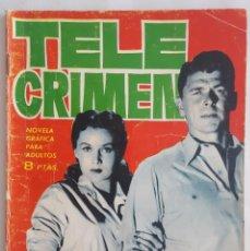 Tebeos: NOVELA SERIE ESPIONAJE / TELE CRIMEN / L.G. MILK / EDICIONES TORAY Nº 7 1965. Lote 156387582