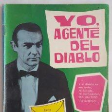 Comics - NOVELA SERIE ESPIONAJE / YO, AGENTE DEL DIABLO / E.SOTILLOS / EDITORIAL TORAY Nº 4 1965 - 156391806