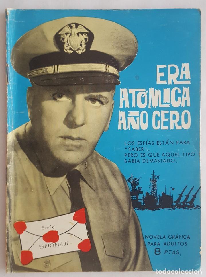 NOVELA SERIE ESPIONAJE / ERA ATÓMICA AÑO CERO / M.V.RODOREDA / EDITORIAL TORAY Nº 3 1965 (Tebeos y Comics - Toray - Espionaje)