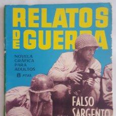 Tebeos: NOVELA BELICA / RELATOS DE GUERRA / FALSO SARGENTO / M.V. RODOREDA / EDICIONES TORAY Nº 64 1965. Lote 156420530