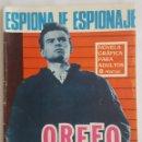 Tebeos: NOVELA ESPIONAJE / ORFEO 007 / EDICIONES TORAY Nº 44 1966. Lote 156524434