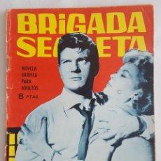 Tebeos: NOVELA POLICIACA / BRIGADA SECRETA / LOS MUERTOS PUEDEN HABLAR / EDICIONES TORAY Nº 89 1965. Lote 156534214