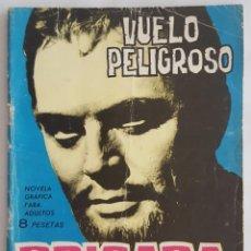 Tebeos: NOVELA POLICIACA / BRIGADA SECRETA / VUELO PELIGROSO / EDICIONE TORAY Nº 100 1965. Lote 156536266