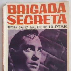 Tebeos: NOVELA POLICIACA / BRIGADA SECRETA / BROMA MACABRA / EDICIONES TORAY Nº 174 1966. Lote 156537962