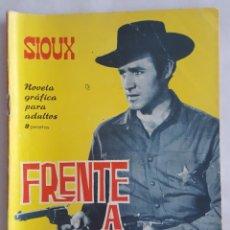 Tebeos: NOVELA OESTE / SIOUX / FRENTE A FRENTE / EDICIONES TORAY Nº 38 1965. Lote 156565550