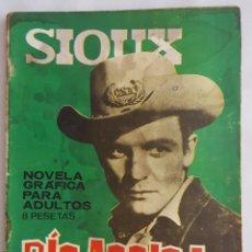 Tebeos: NOVELA OESTE / SIOUX / RIO ARRIBA / EDICIONES TORAY Nº 45 1966. Lote 156566230