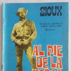 Tebeos: NOVELA OESTE / SIOUX / AL PIE DE LA HORCA / EDICIONES TORAY Nº 55 1966. Lote 156566766