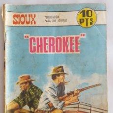 Tebeos: NOVELA OESTE / SIOUX / CHEROKEE / EDICIONES TORAY Nº 97 1967. Lote 156567022
